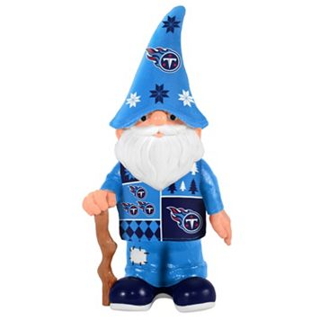 Forever Collectibles Tennessee Titans Ugly Sweater Garden Gnome