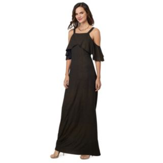 Women's Indication by ECI Off-the-Shoulder Maxi Dress