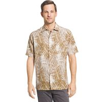 Men's Van Heusen Classic-Fit Oasis Crosshatch Button-Down Shirt