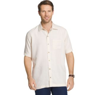 Men's Van Heusen Classic-Fit Grid Button-Down Shirt