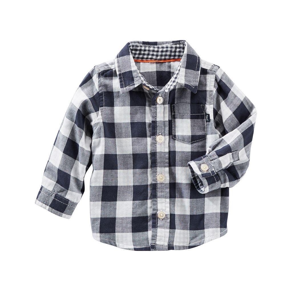 Baby Boy OshKosh B'gosh® Checked Plaid Shirt