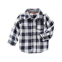 Baby Boy OshKosh B'gosh® Checked Plaid Shirt