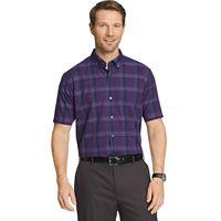 Men's Van Heusen Flex Stretch Classic-Fit Plaid No-Iron Button-Down Shirt