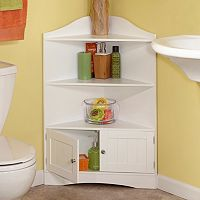 RiverRidge Home Ashland Storage Corner Cabinet