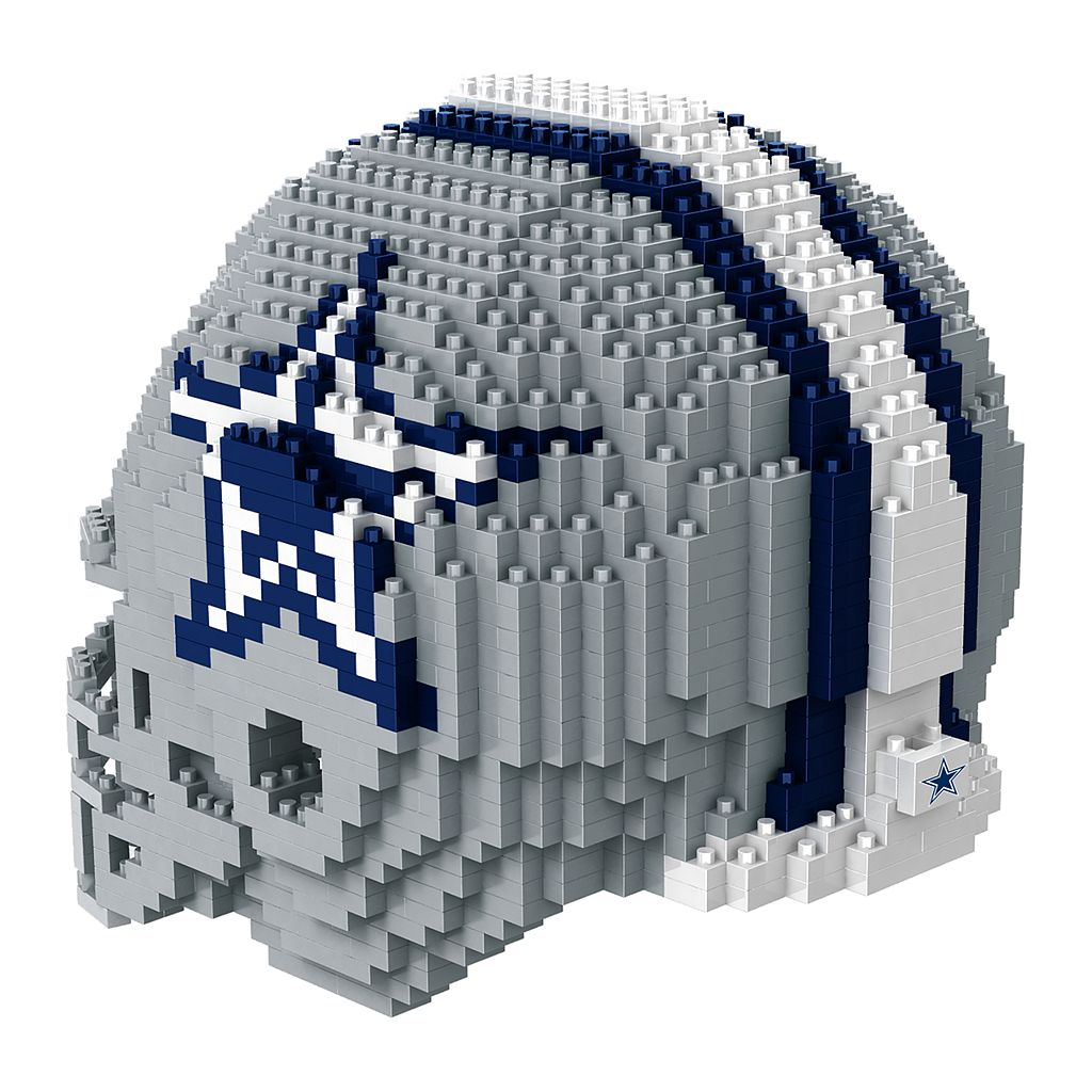 Forever Collectibles Dallas Cowboys 3D Helmet Puzzle