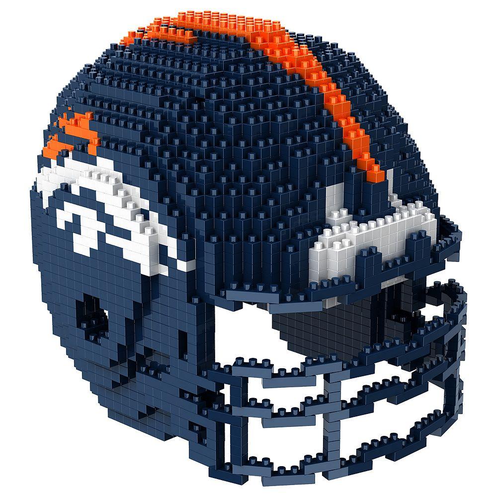 Forever Collectibles Denver Broncos 3D Helmet Puzzle
