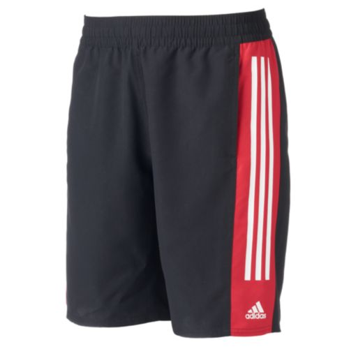 Men's adidas Colorblock Microfiber Volley Swim Trunks