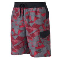 Men's adidas Sport Geo Microfiber Volley Swim Trunks