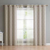 VCNY Estrada 4-pack Window Curtains