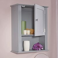 RiverRidge Home Ashland One Door Wall Cabinet