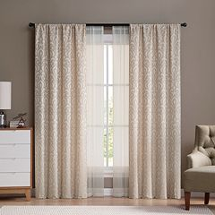 VCNY Villa 4-pack Window Curtains