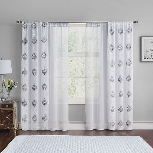 VCNY Jade 4-pack Window Curtains