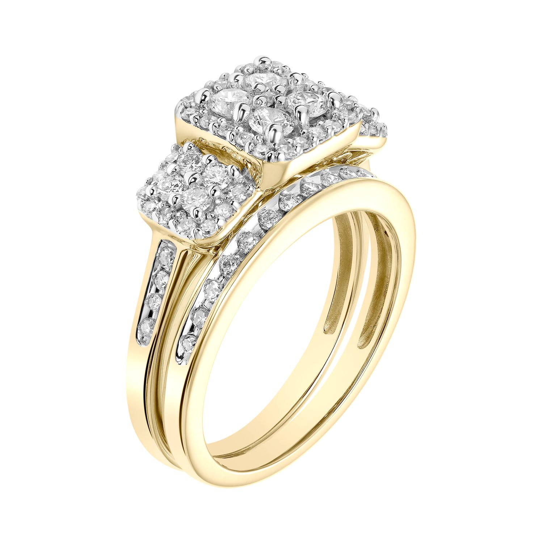 Diamond Bridal Sets Rings Jewelry