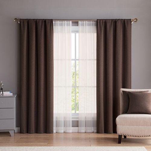 VCNY 6-piece Diana Window Curtain & Throw Pillow Set