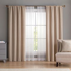 VCNY 6-piece Diana Window Curtain & Throw Pillow Set