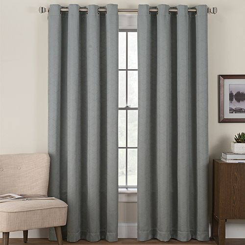 Hudson Hill 1-Panel Further Window Curtain