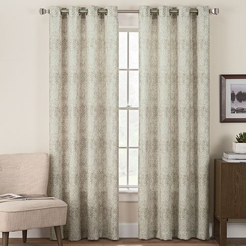 Hudson Hill 1-Panel Morelle Window Curtain