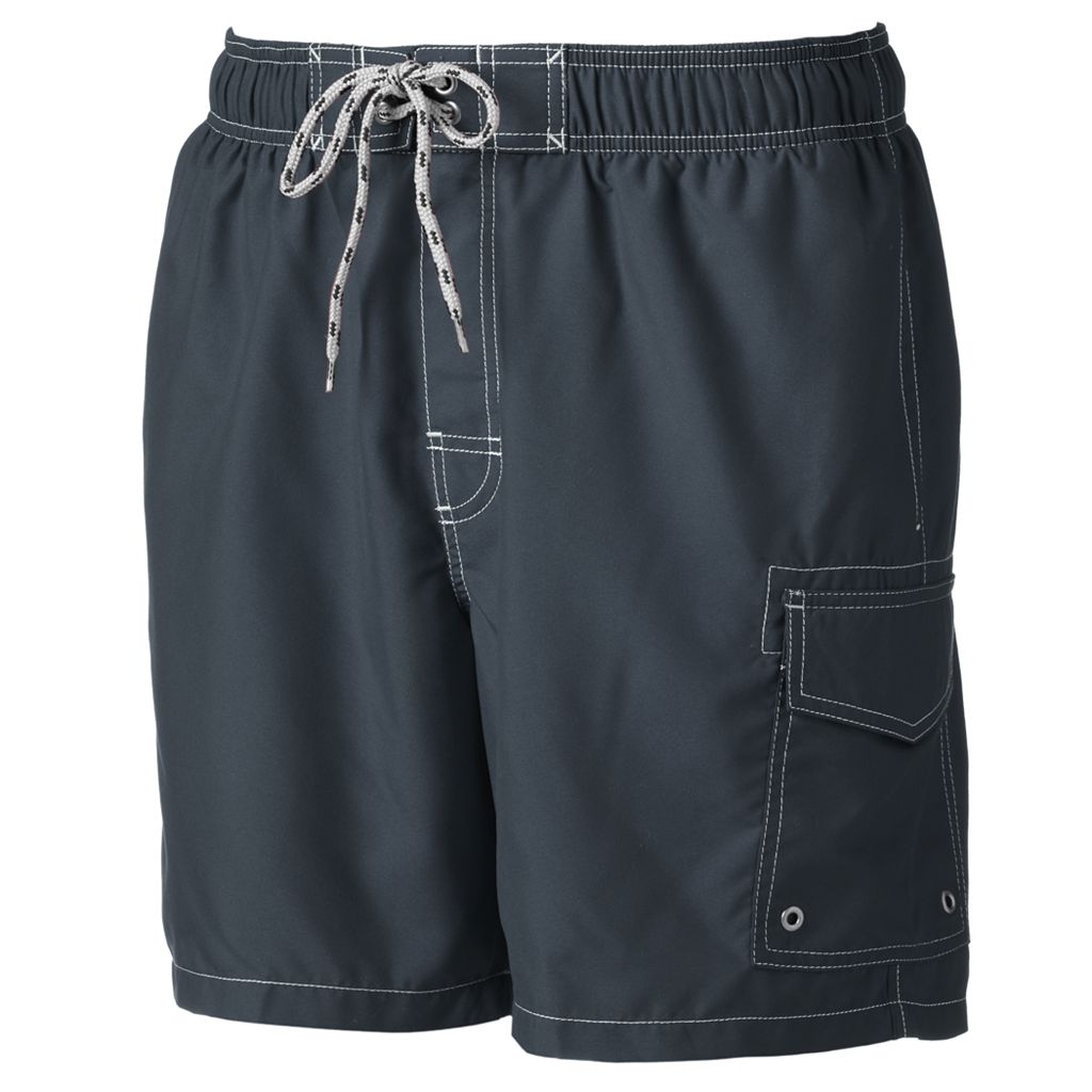 Men's SONOMA Goods for Life™ Microfiber Swim Trunks