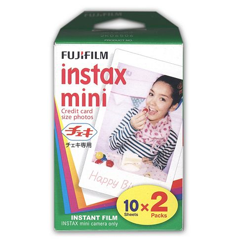 Fujifilm Instax Mini 2-Pack Instant Film