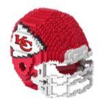 Forever Collectibles Kansas City Chiefs 3D Helmet Puzzle