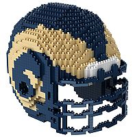 Forever Collectibles Los Angeles Rams 3D Helmet Puzzle