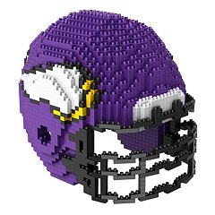 Forever Collectibles Minnesota Vikings 3D Helmet Puzzle