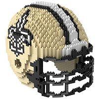 Forever Collectibles New Orleans Saints 3D Helmet Puzzle