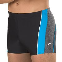 Men's Speedo Ignite Splice Colorblock Square Leg Swim Shorts