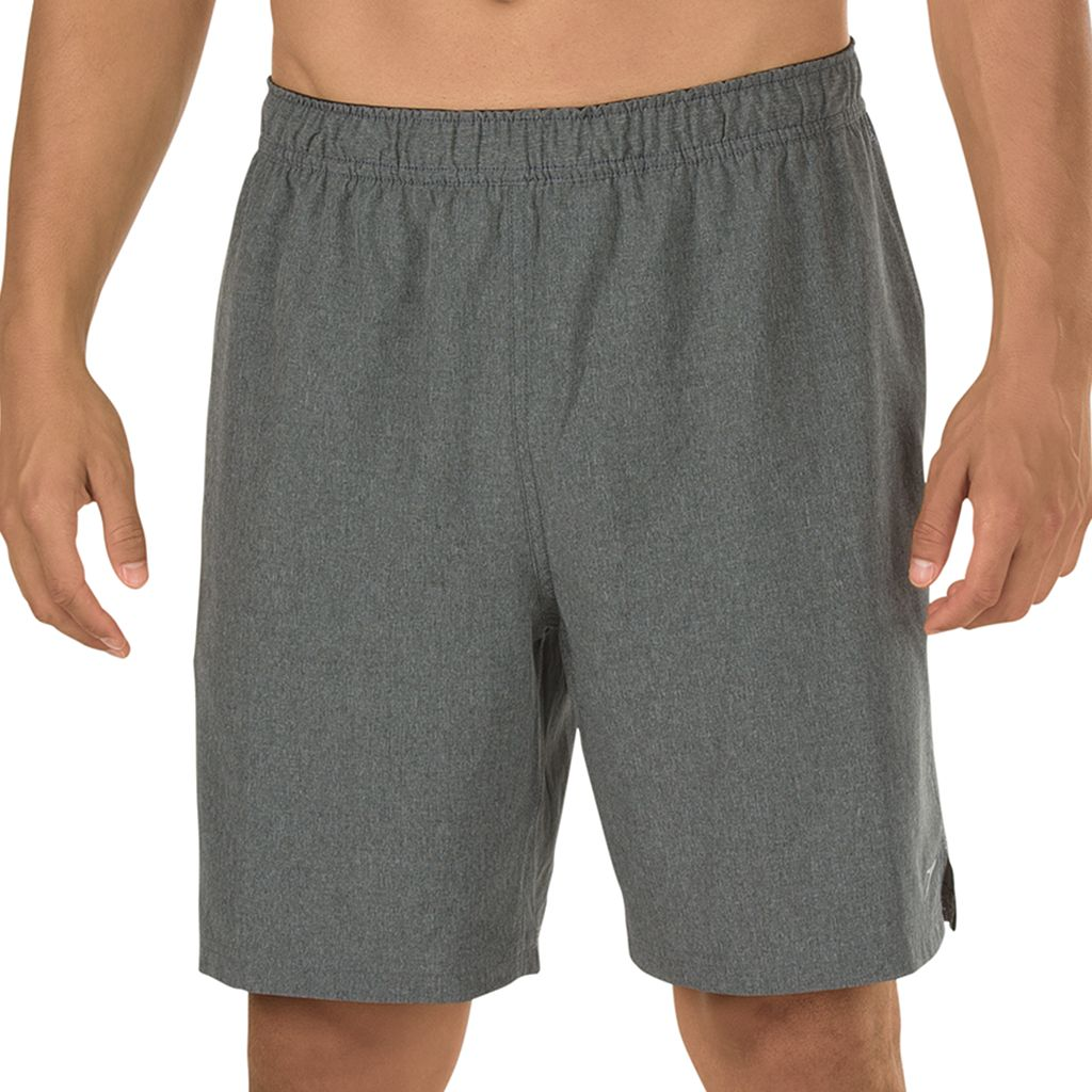 Men's Speedo Heathered Tech Volley Shorts