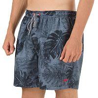 Men's Speedo Solo Voyage Tropical VaporPLUS Microfiber Swim Shorts