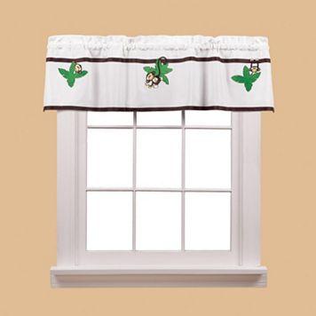 Saturday Knight, Ltd. Monkey Town Window Valance