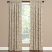 Saturday Knight, Ltd. 1-Panel Summerville Window Curtain