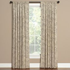 Saturday Knight, Ltd. 1-Panel Summerville Window Curtain