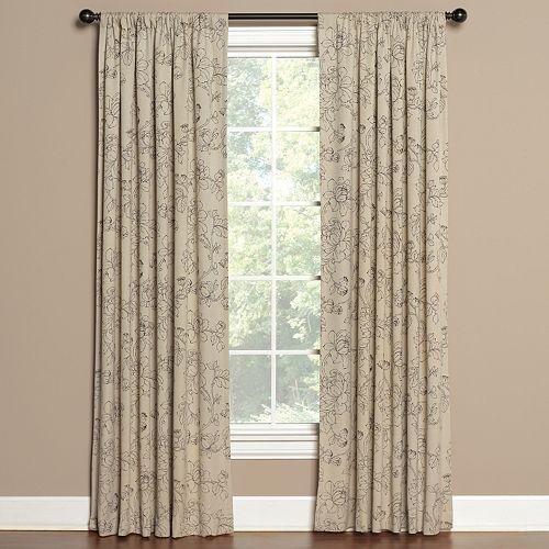 Saturday Knight, Ltd. Summerville Window Curtain
