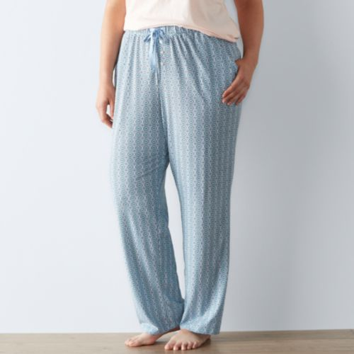 Plus Size SONOMA Goods for Life™ Pajamas: Weekend Love Pajama Pants