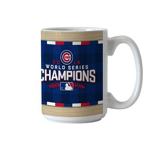 Boelter Chicago Cubs 2016 World Series Champions Trophy Coffee Mug 3cdbf7bad091