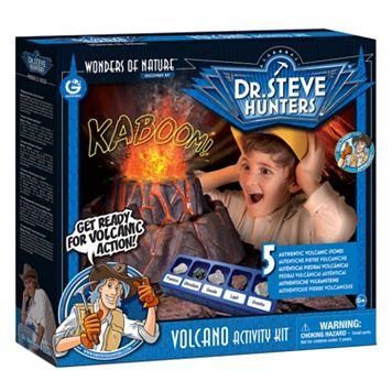 Geoworld Dr. Steve Hunters Volcano Activity Kit