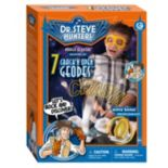 Geoworld Dr. Steve Hunters 7 Geodes & Agate Slice Crack 'em Open Kit