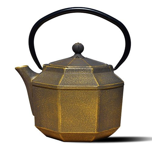 Old Dutch Cast-Iron Pagoda Teapot