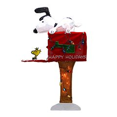 Northlight 36' Pre-Lit Peanuts Snoopy Christmas Yard Decor