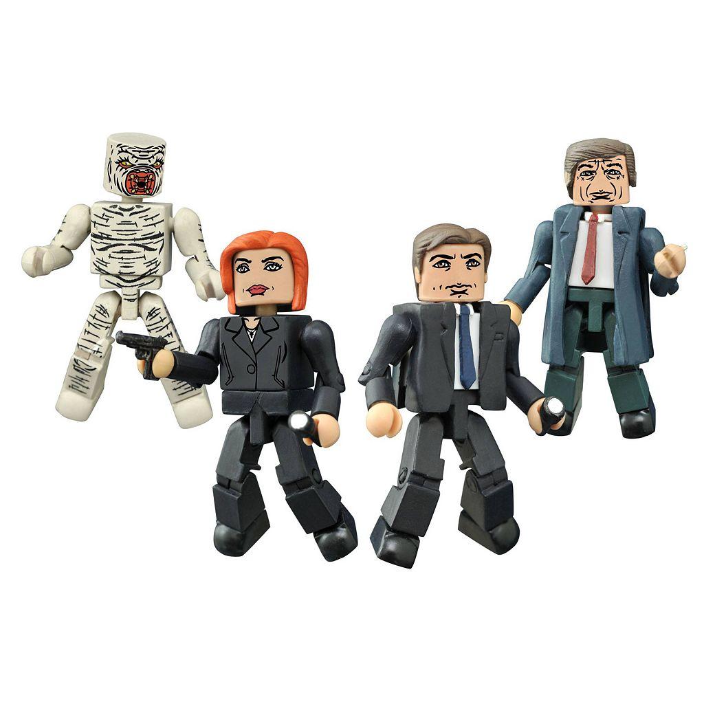 X-Files Classic Minimates Box Set by Diamond Select Toys