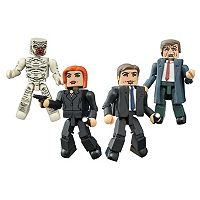 X-Files Classic Minimates Box Set by Diamond Select Toys