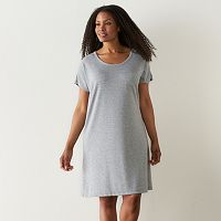 Plus Size SONOMA Goods for Life™ The Everyday French Terry Sleep Shirt