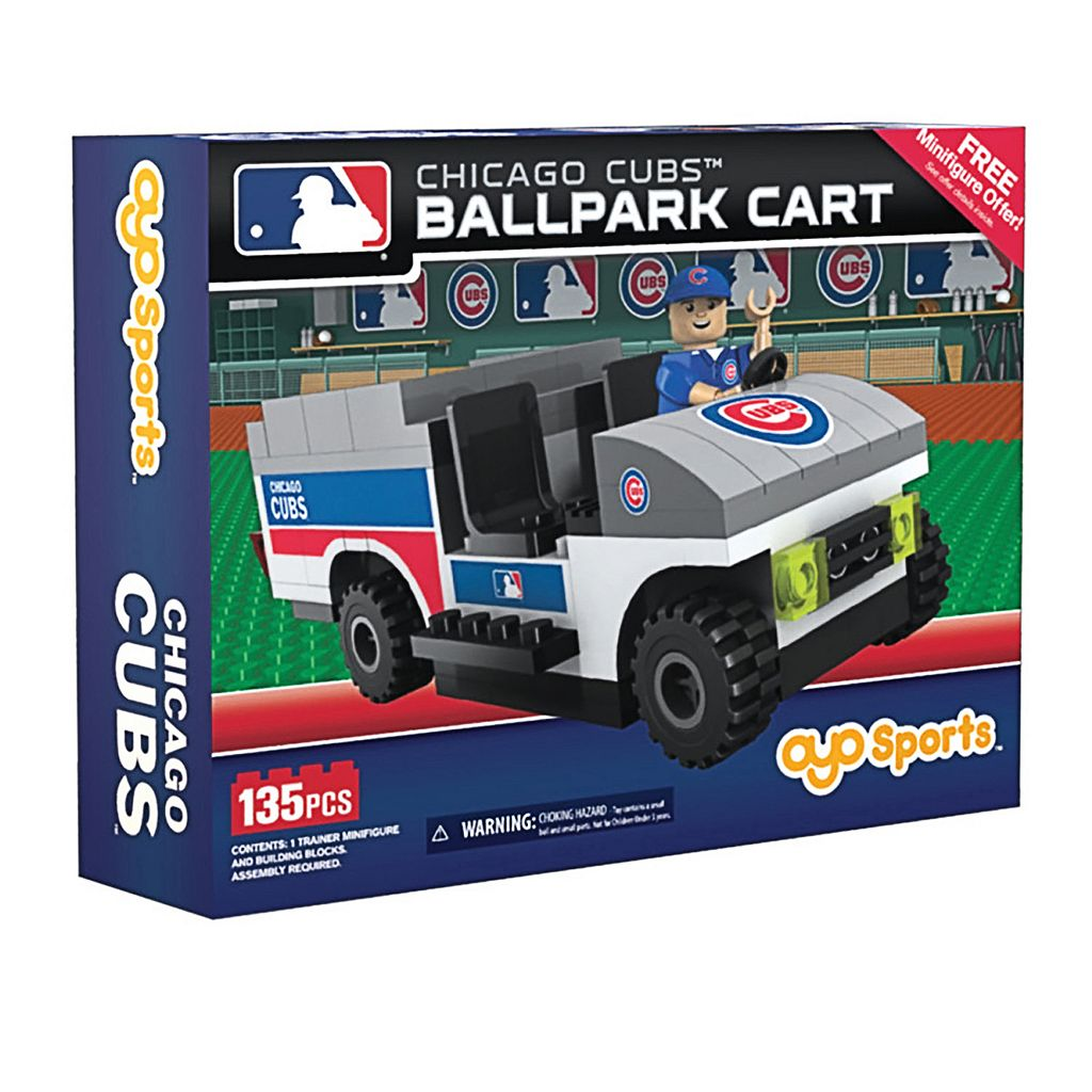 OYO Sports Chicago Cubs 135-Piece Ballpark Cart Set