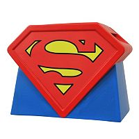 DC Comics Superman Animated Series Logo Cookie Jar by Diamond Select Toys