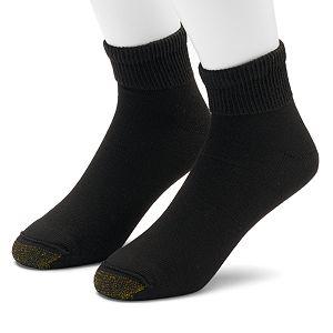 0b1055d873511 Men's GOLDTOE 6-pk. Cushioned 1/4-Crew Socks