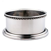 Old Dutch 2-pc. Stainless Steel Wine Bottle Coaster Set