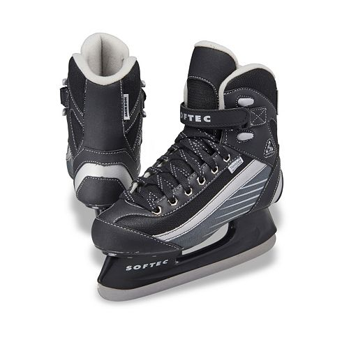 Youth Jackson Ultima Black Softec Recreational Hockey Ice Skates