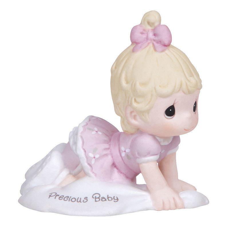 "Precious Moments ""Precious Baby"" Blonde Girl Figurine"
