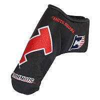 Team Effort Illinois Fighting Illini Blade Putter Cover